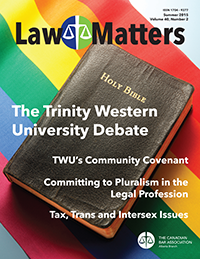 Law Matters | Summer 2015
