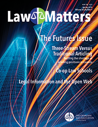 Law Matters | Spring 2014