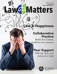 Law Matters | Spring 2015