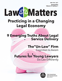 Law Matters | Spring 2016