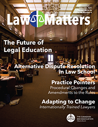 Law Matters | Winter 2015-16