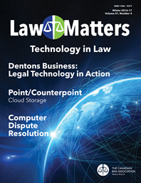 Law Matters | Winter 2016-17